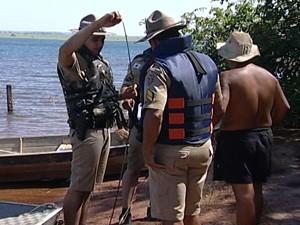 Durante a operação, quatro pessoas foram presas (Foto: Reprodução/TV Integração)